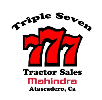 New 777 Tractor Sales Logo